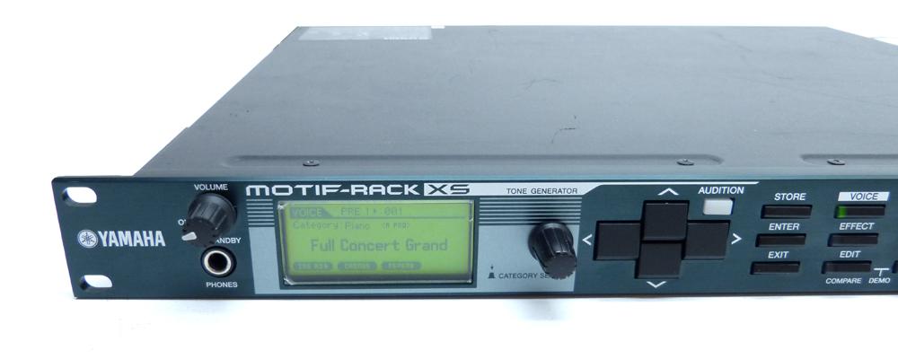 Yamaha Motif Rack Xs Manual